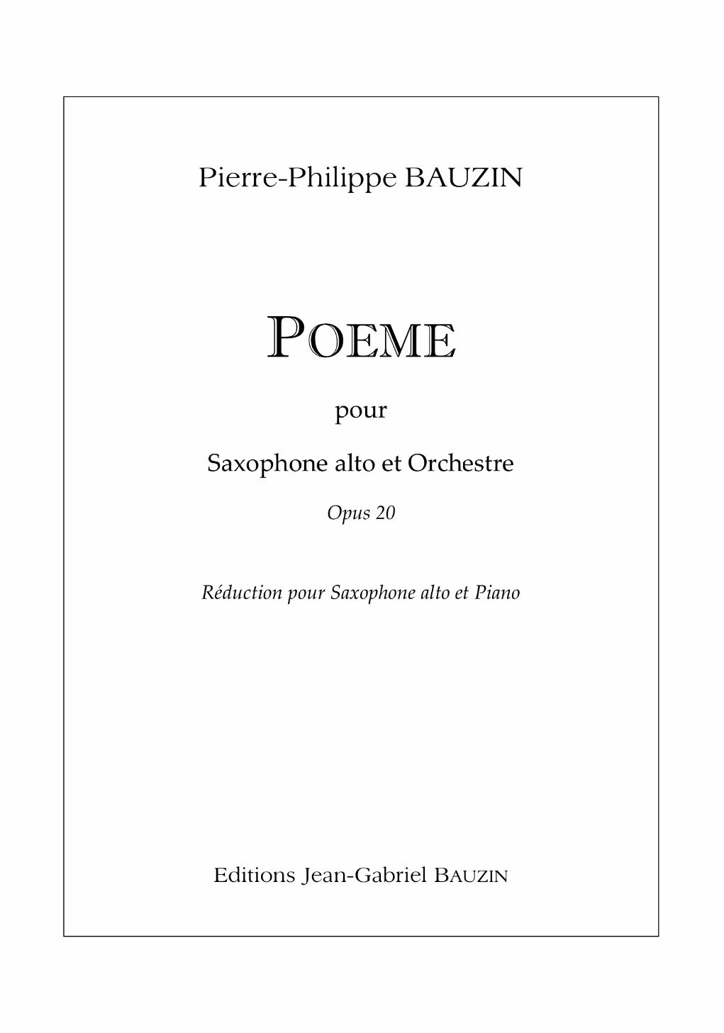 Poem by Pierre-Philippe Bauzin