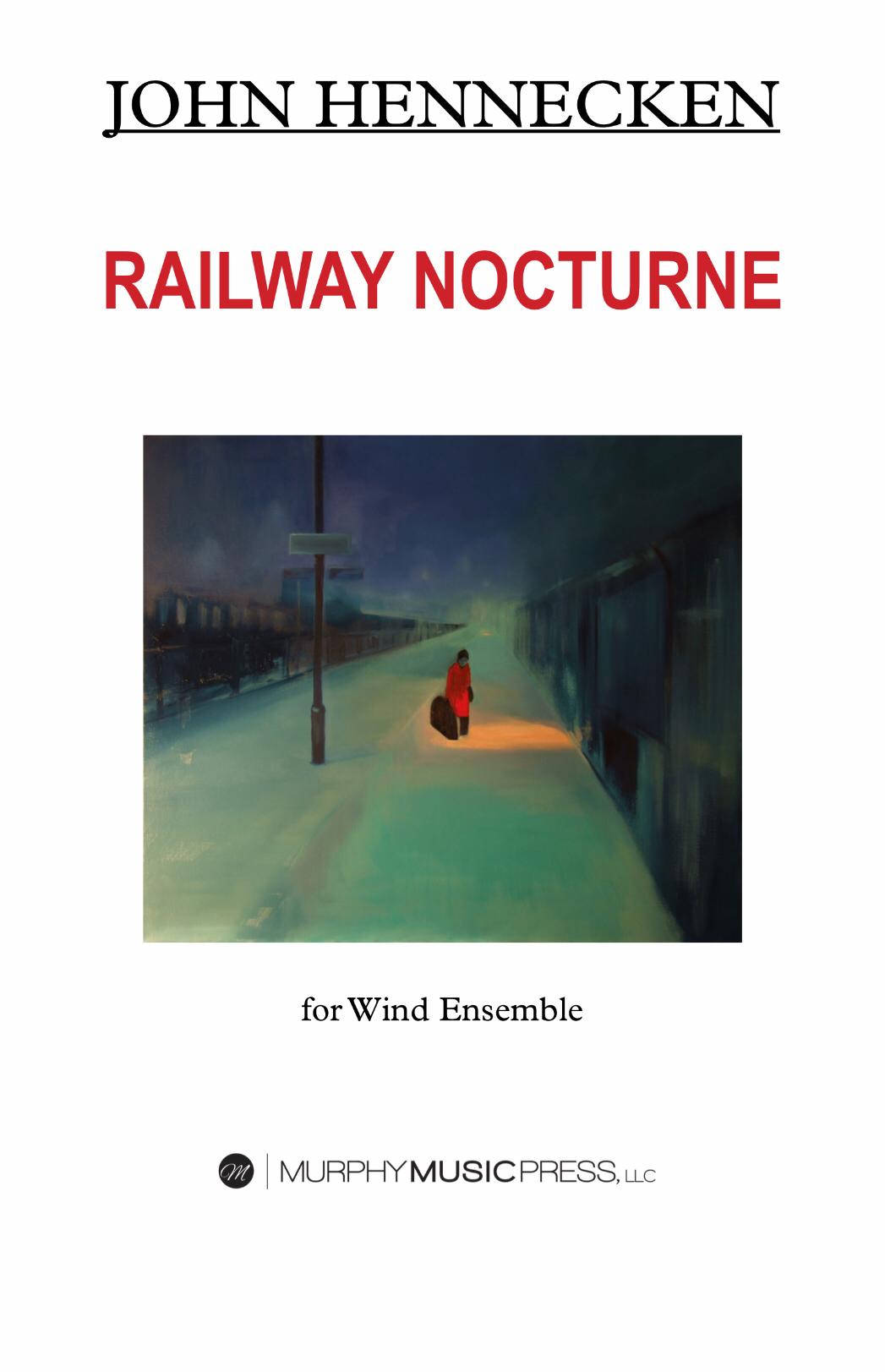 Railway Nocturne by John Hennecken