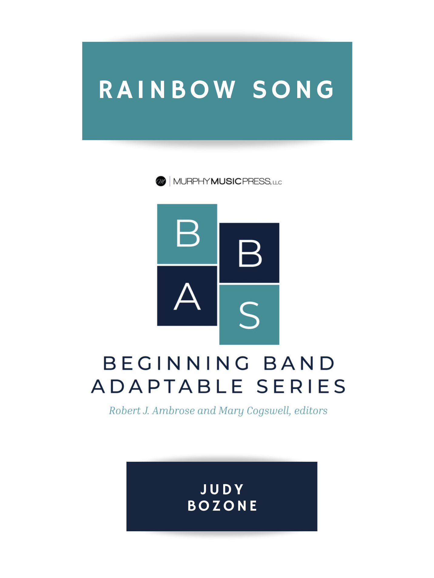 Rainbow Song by Judy Bozone