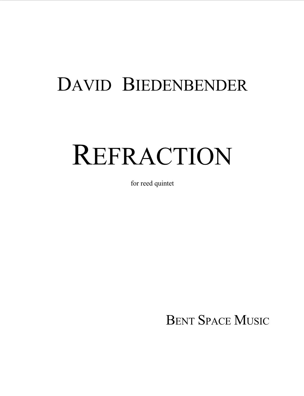 Refraction  by David Biedenbender
