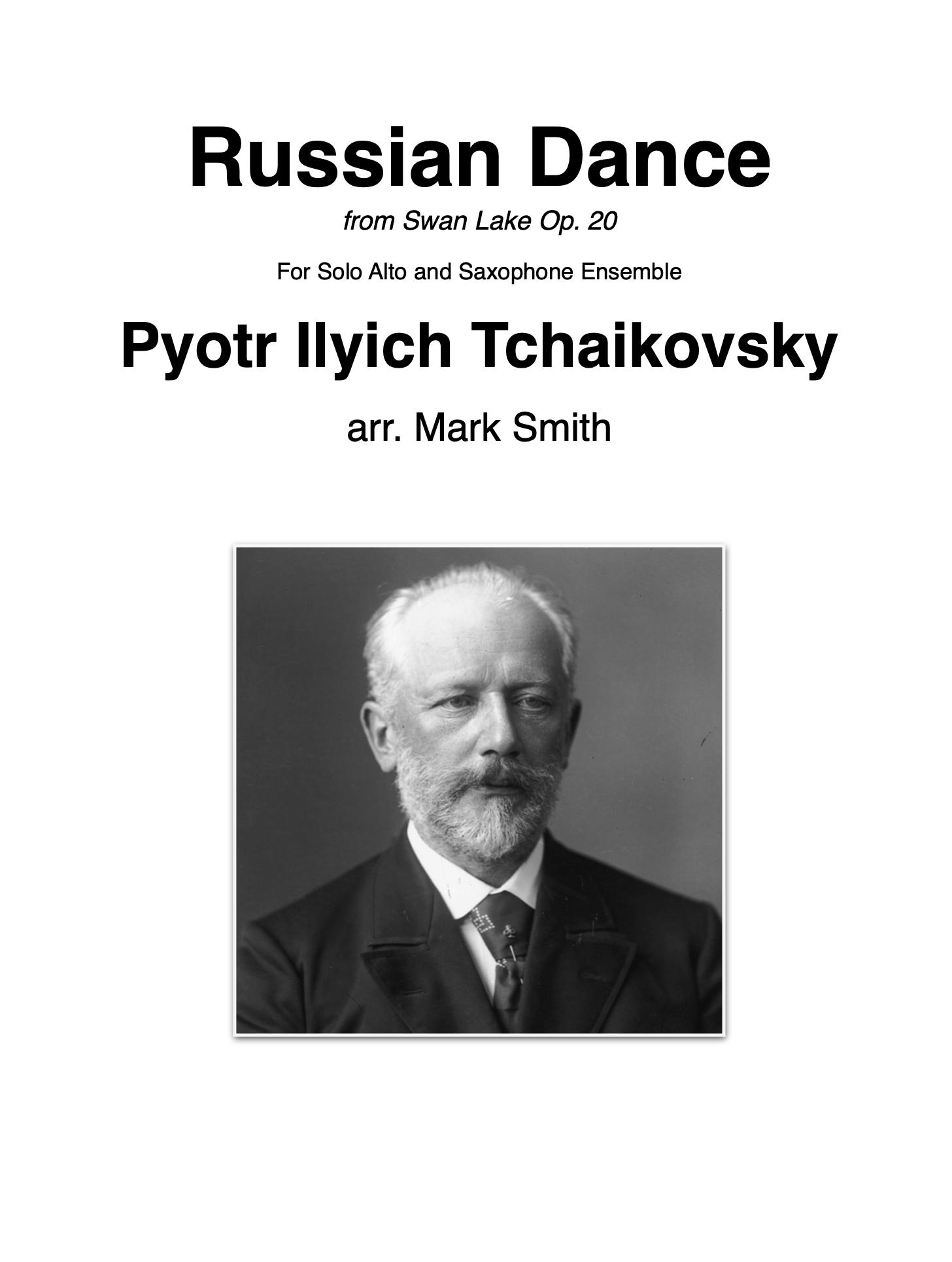 Russian Dance by Tchaikovsky, arr. Mark Smith