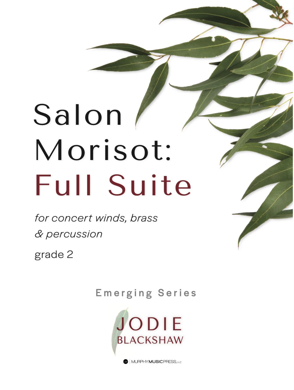 Salon Morisot (Score Only) by Jodie Blackshaw