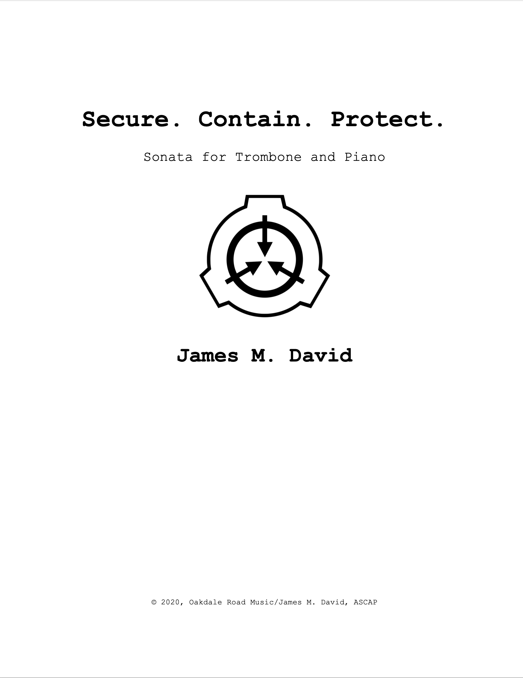 Secure.Contain.Protect by James David