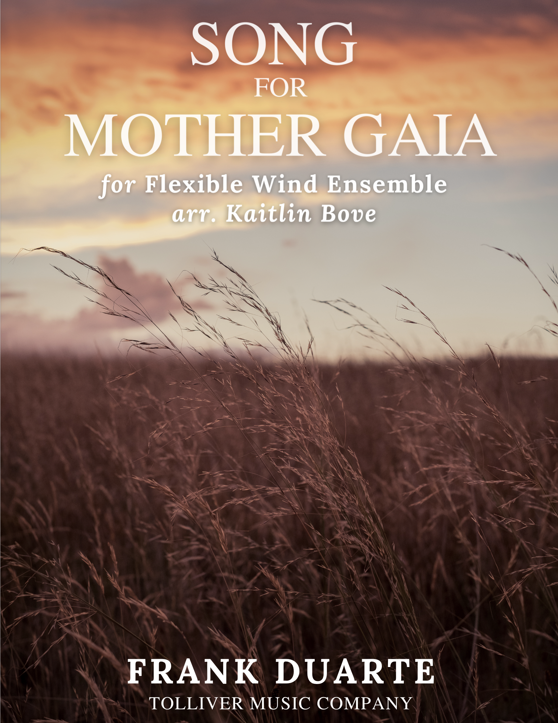 Song For Mother Gaia by Frank Duarte arr. Bove