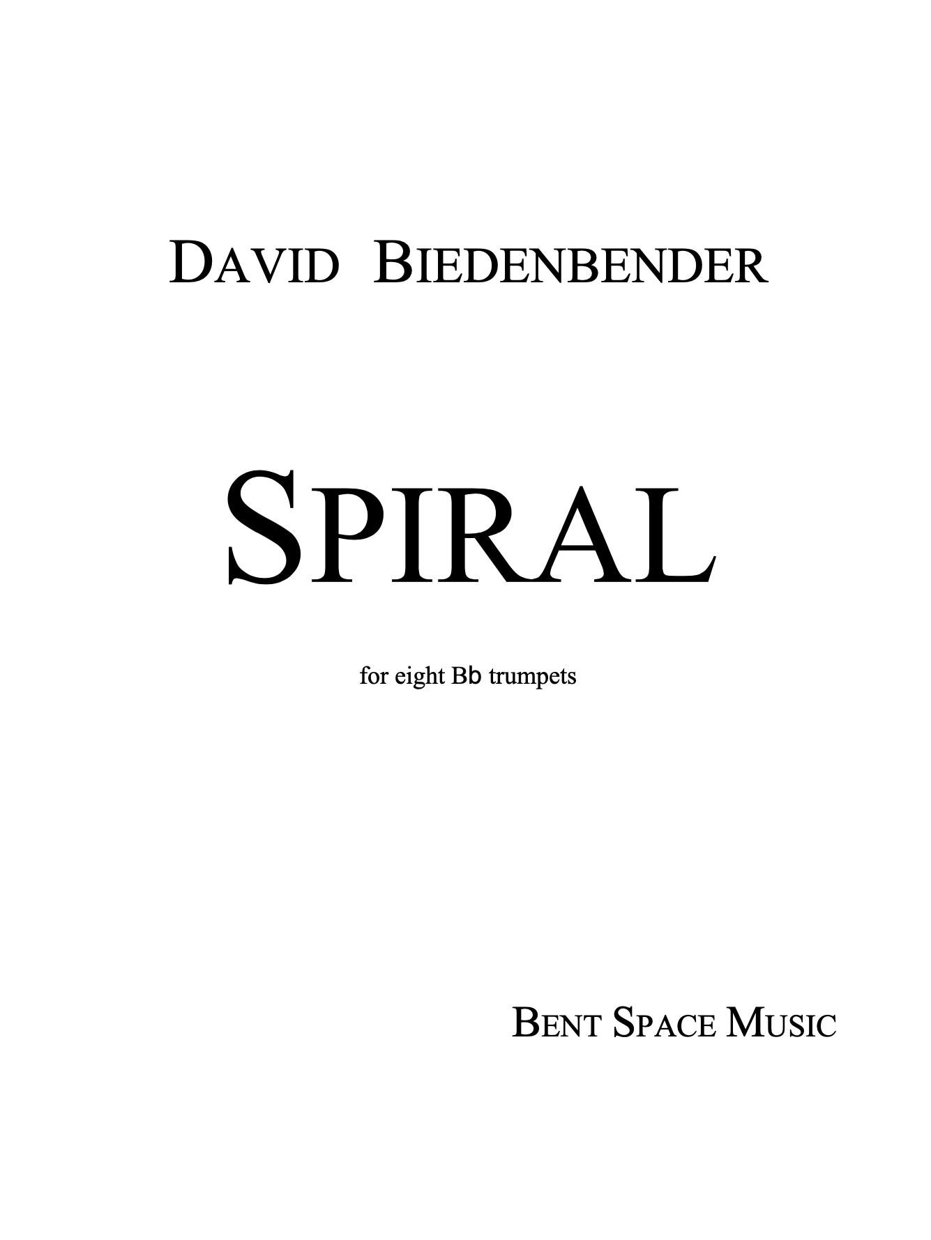 Spiral by David Biedenbender