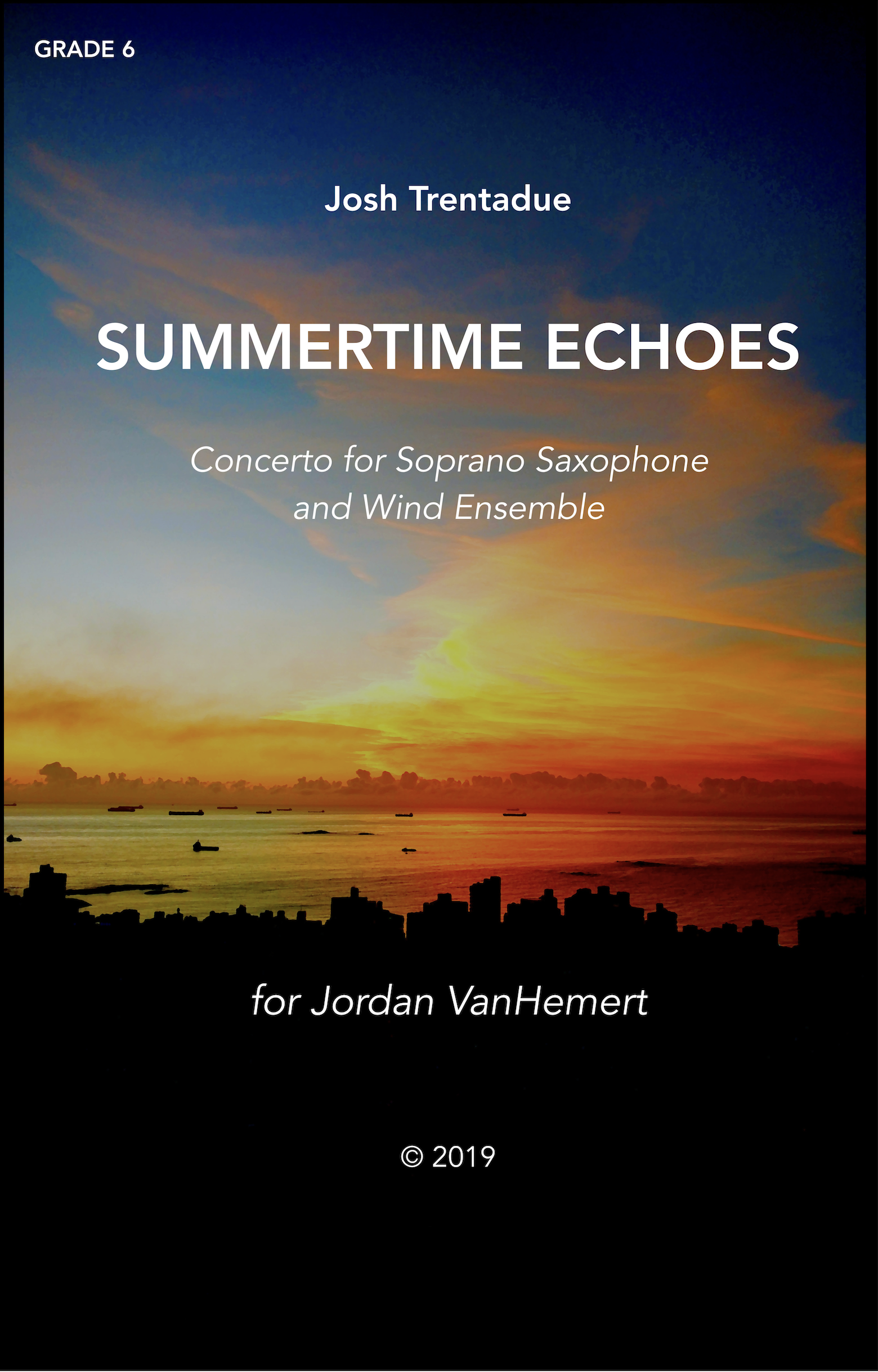 Summertime Echoes (Score Only) by Josh Trentadue