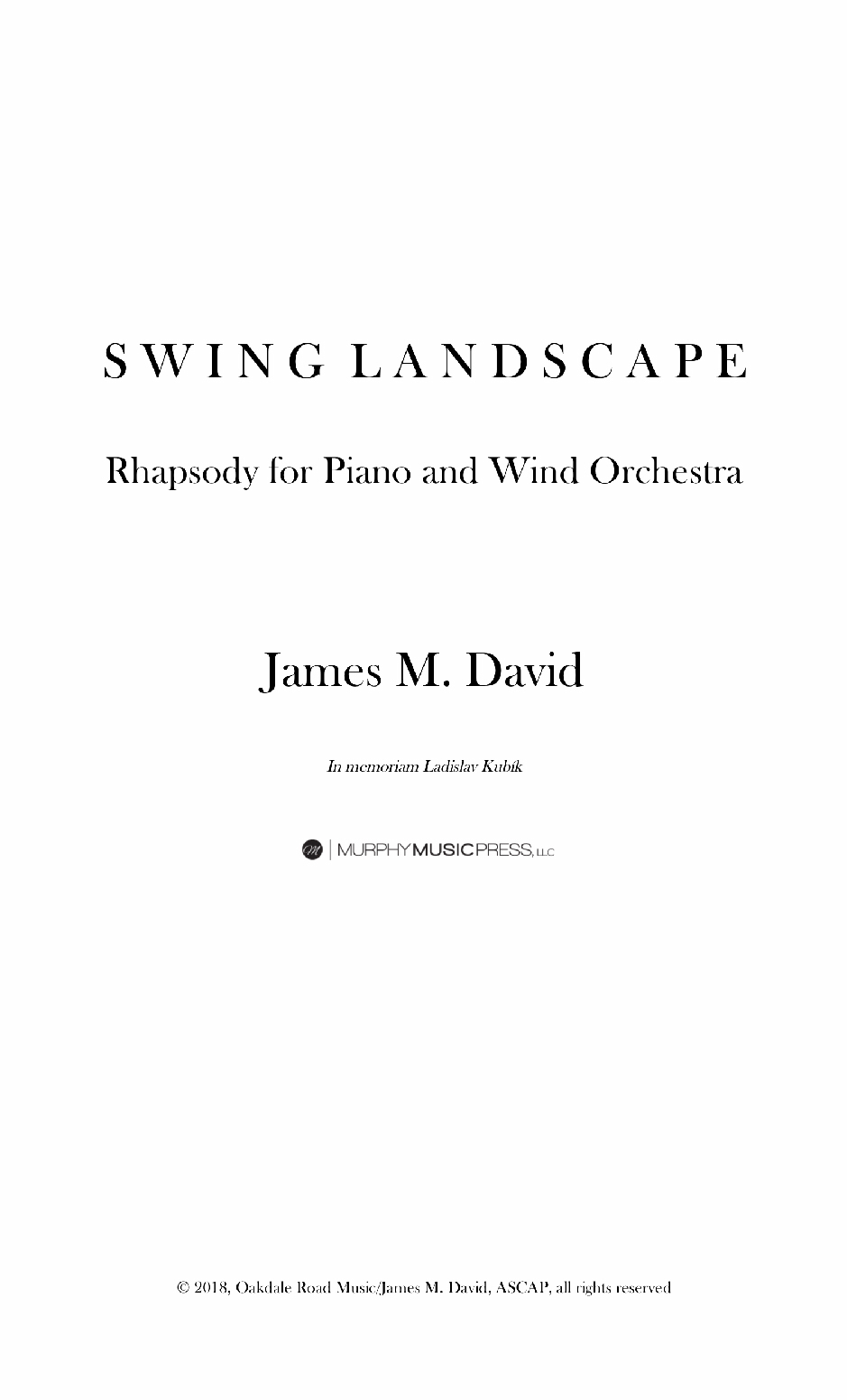 Swing Landscape by James David