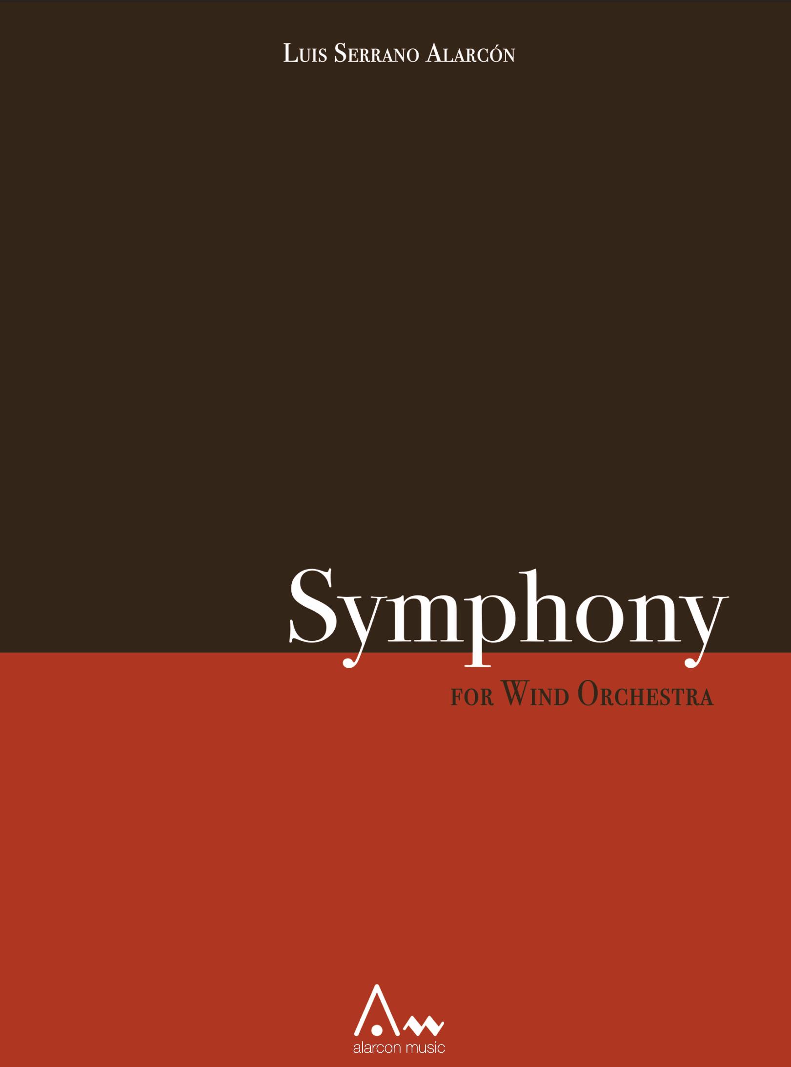 Symphony No. 1 (Rental) by Luis Serrano Alarcon