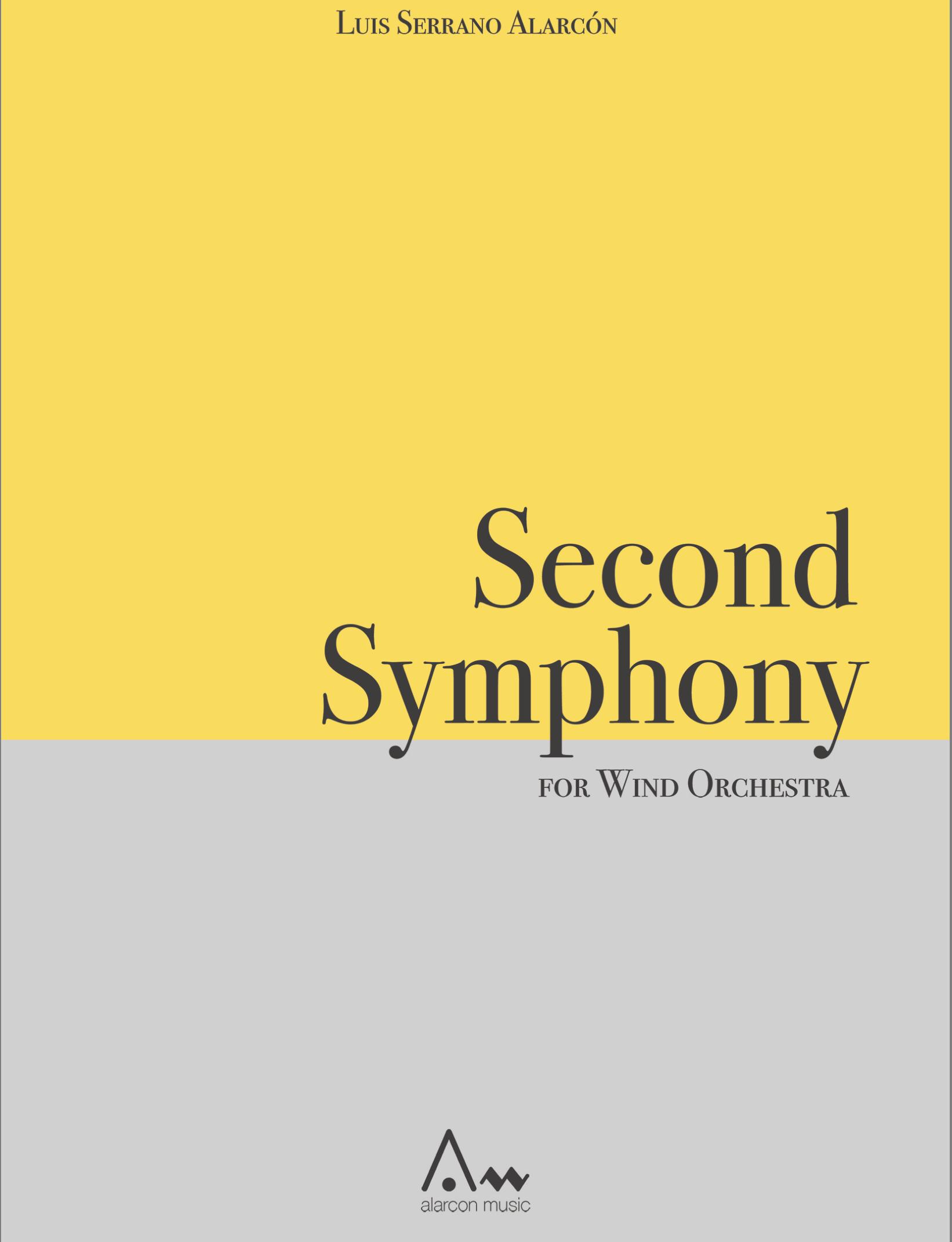 Symphony No. 2 (Rental) by Luis Serrano Alarcon