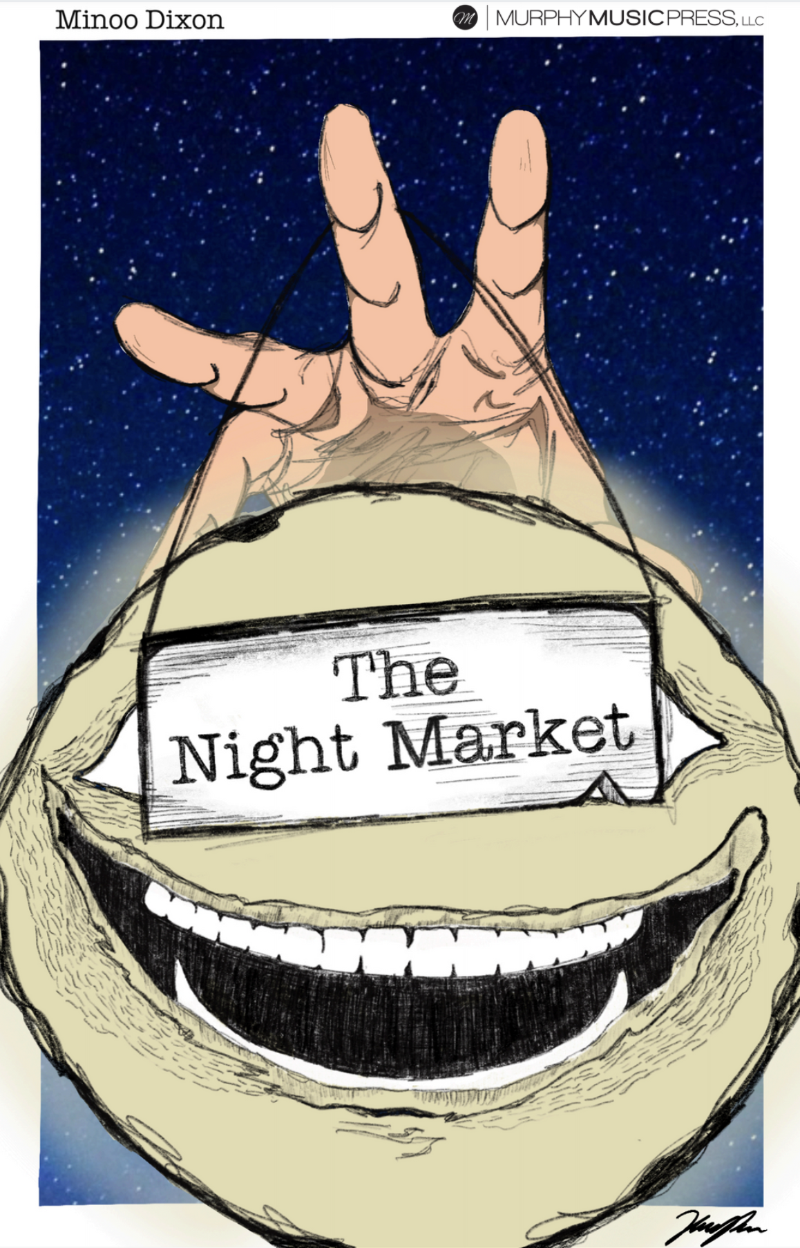 The Night Market by Minoo Dixon