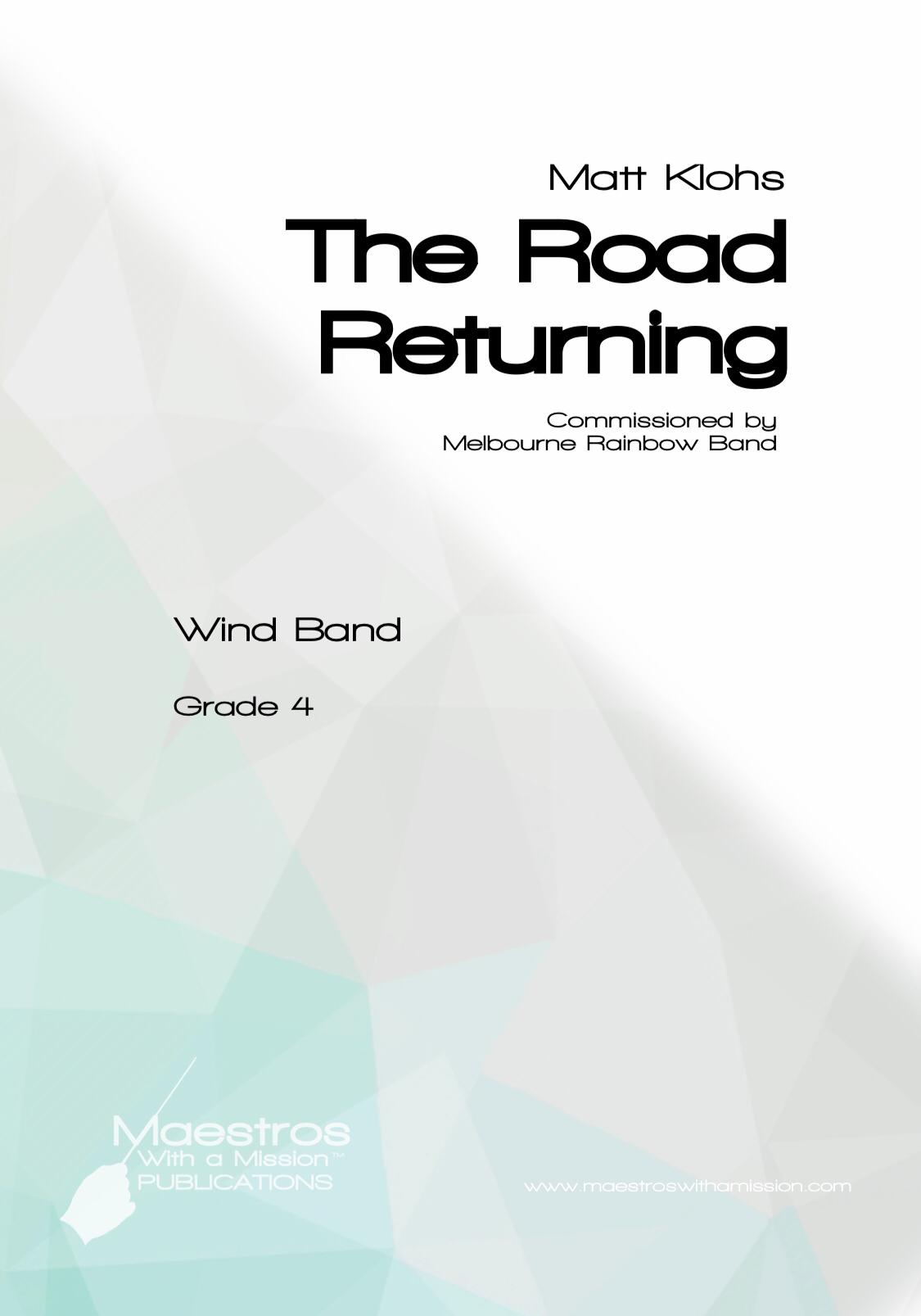 The Road Returning by Matt Klohs