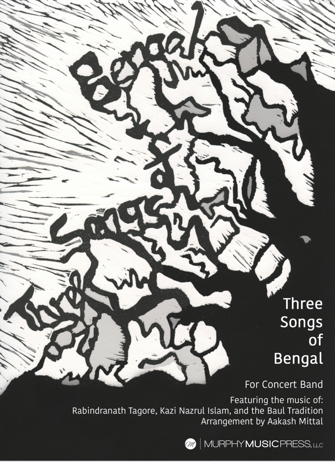 Three Songs Of Bengal (Score Only) by Aakash Mittal