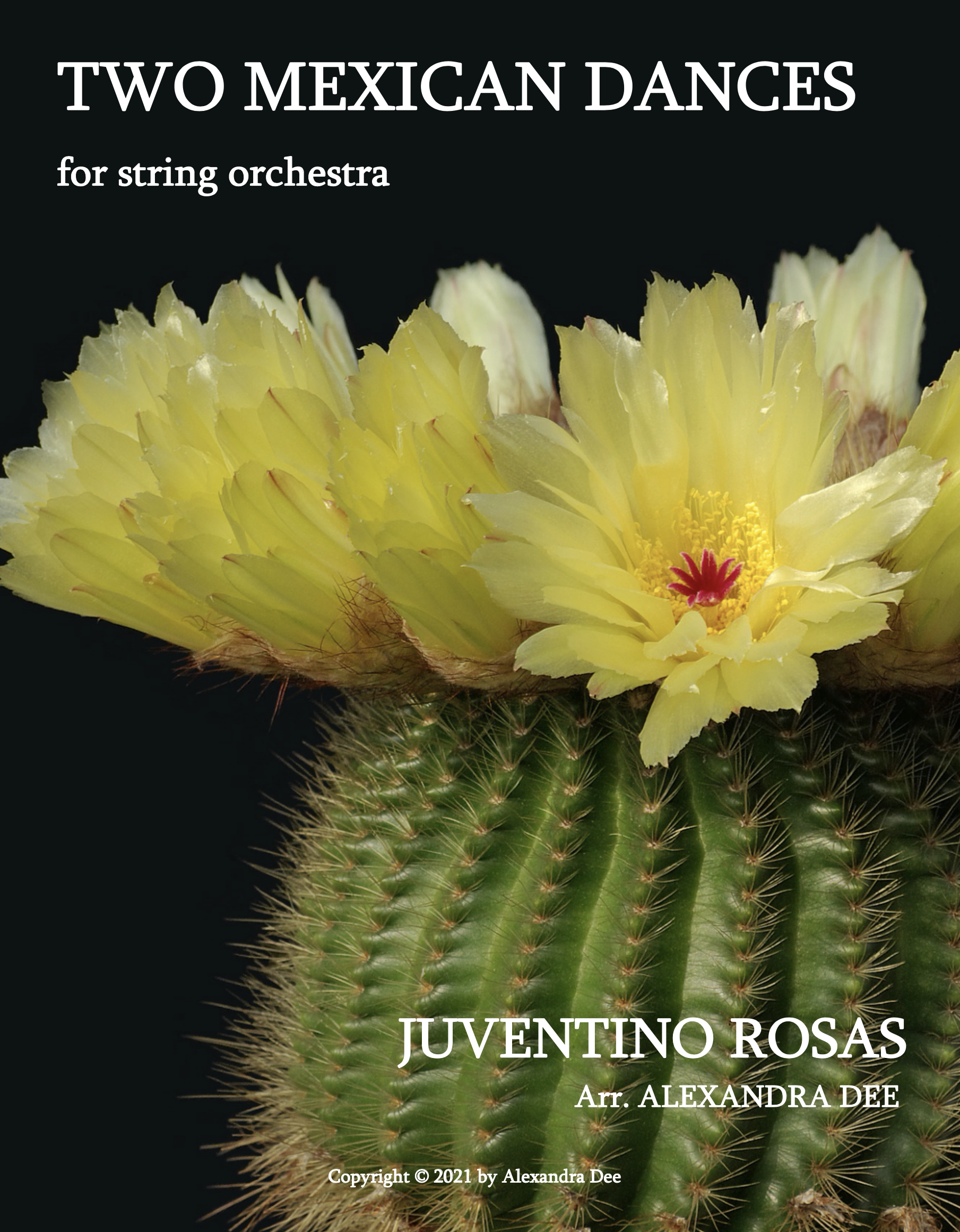 Two Mexican Dances by Juventino Rosas, arr. Dee