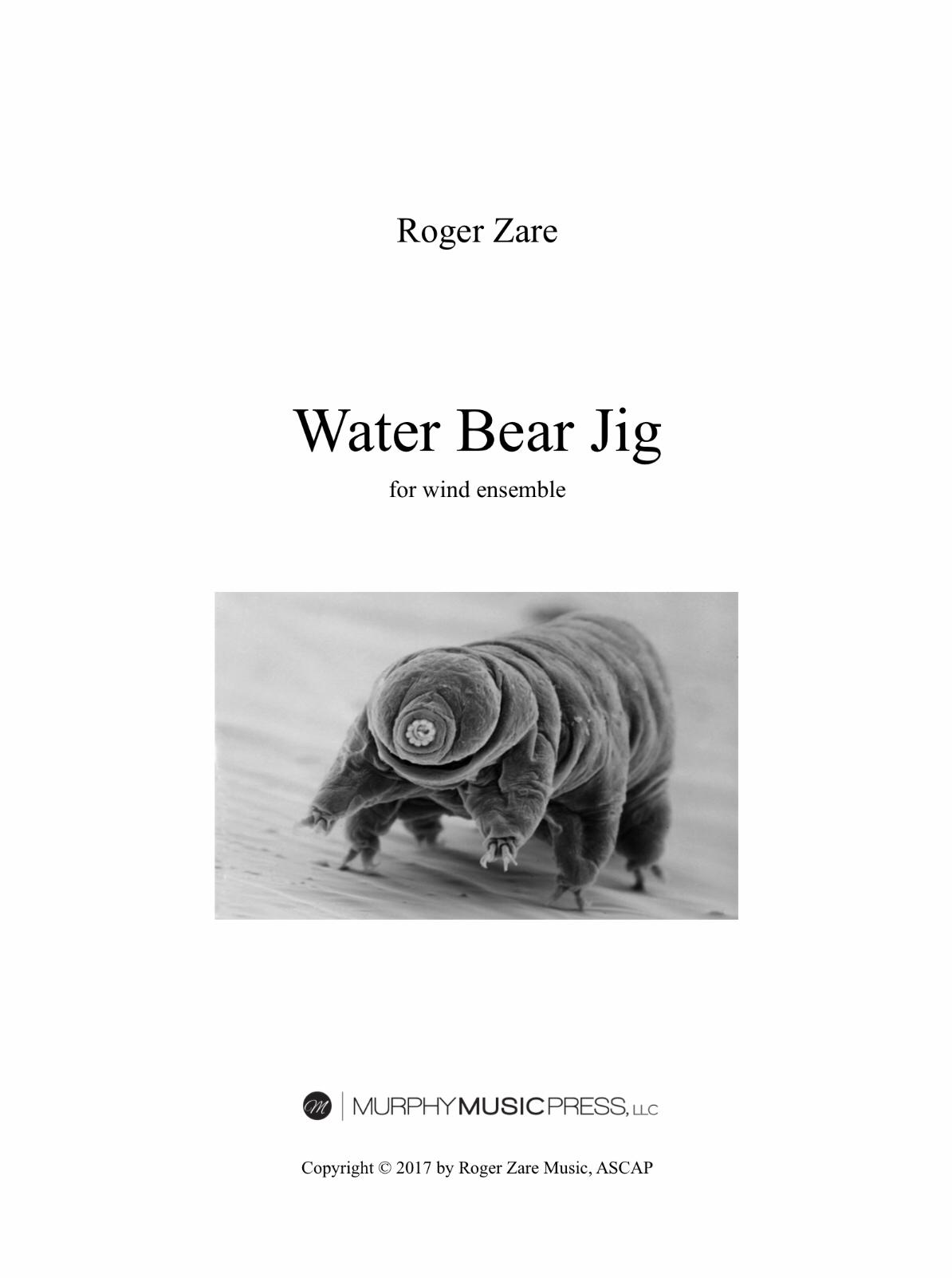 Water Bear Jig (Score Only) by Roger Zare