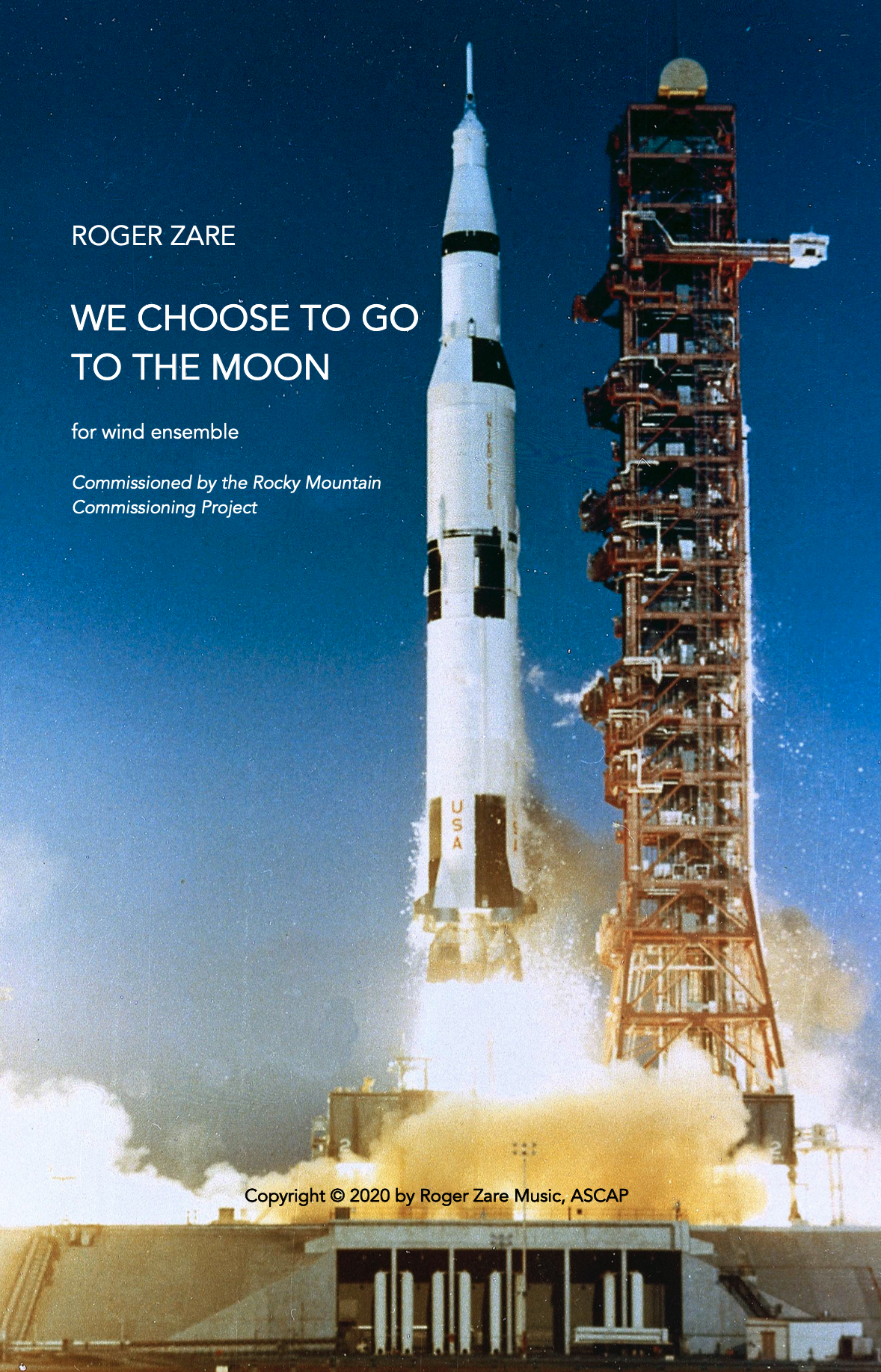 We Choose To Go To The Moon by Roger Zare