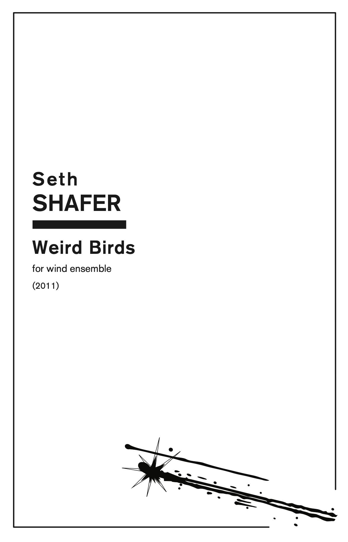 Weird Birds by Seth Shafer