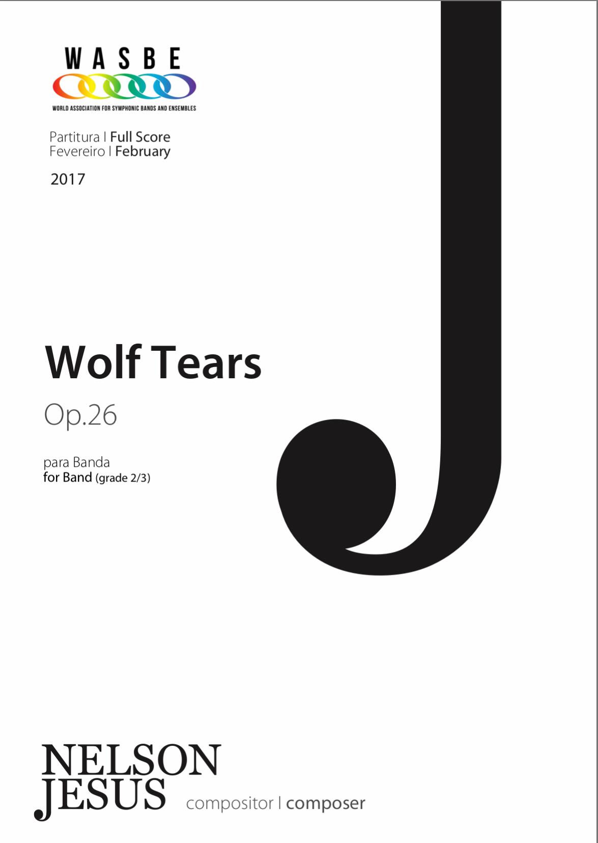 Wolf Tears by Nelson Jesus
