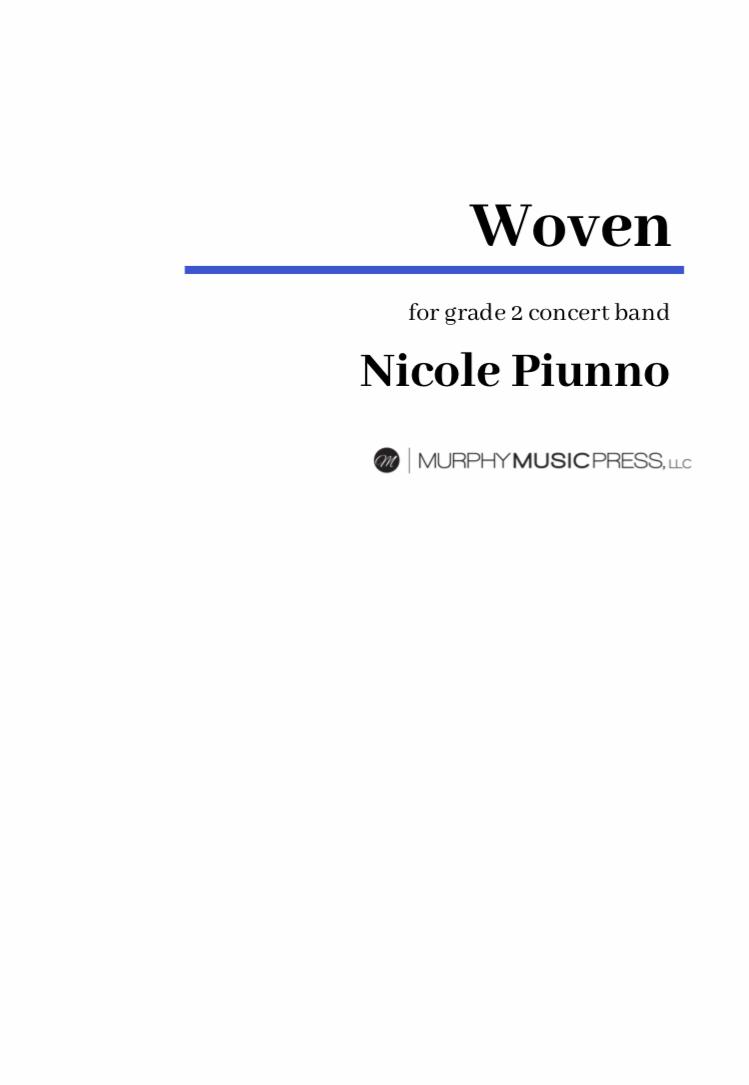 Woven by Nicole Piunno